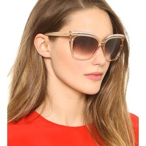 Jimmy Choo Sophia Embellished Sunglasses